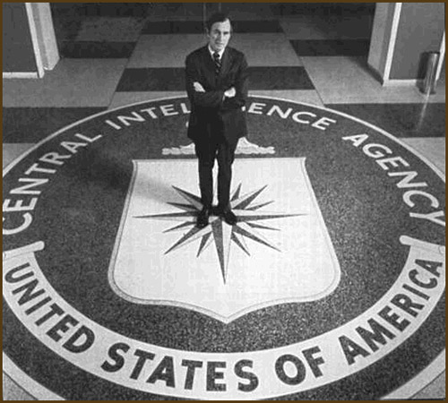 Image result for george bush cia