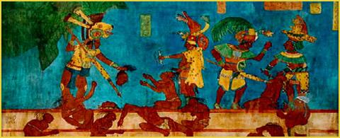 mayan sacrifice