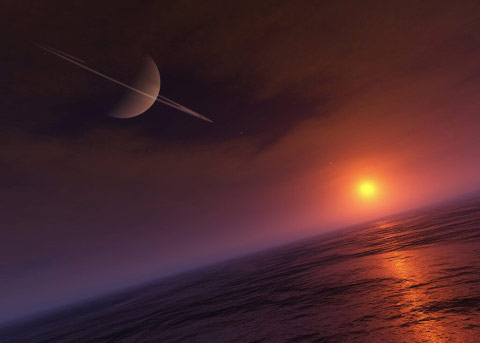 Titan's Sea