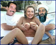 Saddam Loves Hillary Loves Osama