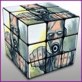 Person in Cube