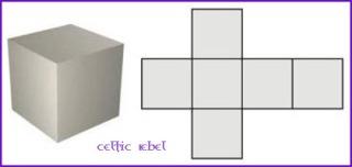 Plato's Solid Cube