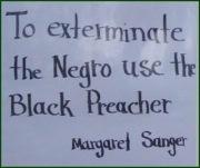 black preacher sanger
