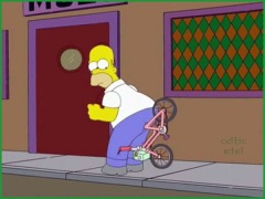 homer bike rape