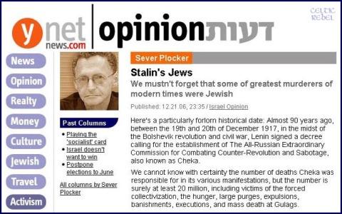 Jewish Mass Murderers