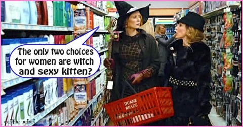 witch or pussy