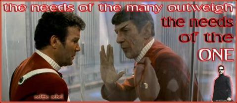 spock sacrifice