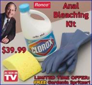anal bleaching kit ronco