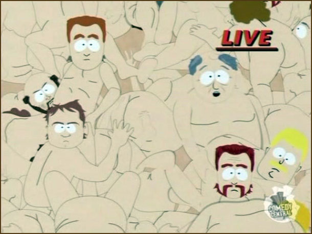 from Arjun gay pile south park