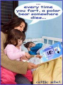 fart polar bear myth