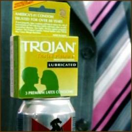 trojan lubricated