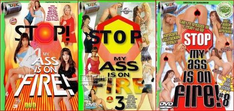 my ass is on fire
