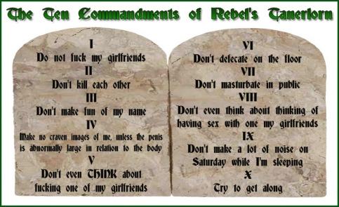 celtic rebel's rules for tanerlorn