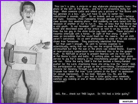 pat boone dick in a box