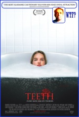 teeth in the tub