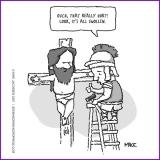 crucifixion humor