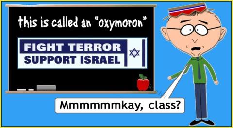 israel is terror