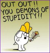demons of stupidity