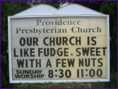 church fudge