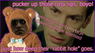 key anus rose lips