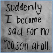 sad for no reason