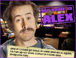 alex rebel my name is earl shagging radio control room