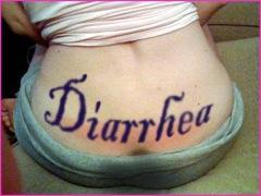 slut diarrhea