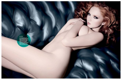 naked redhead lucy fur