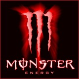 monster energy crucifixion nails