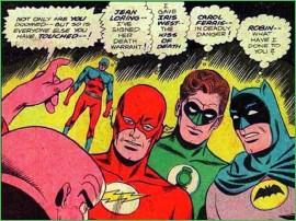 batman touched robin