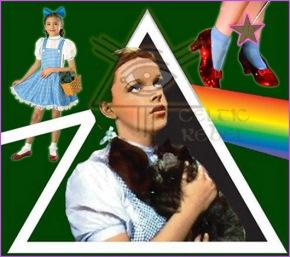 dorothy pineal eye rainbow