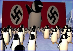 nazi sumbarine base penguins