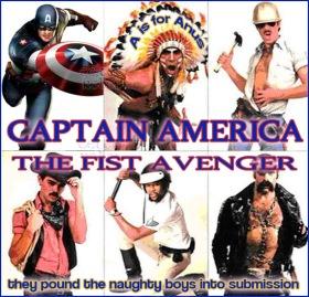 captain fag america boy lover