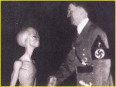 hitler and alien