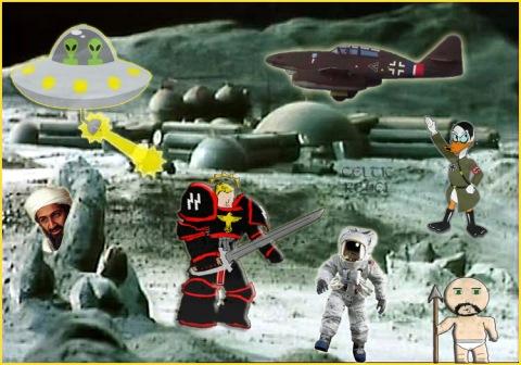 nazi moon landing bin laden whalers