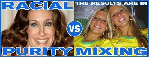 brasilian race mixing beauty and not