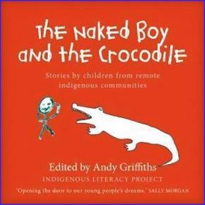 crocodile naked boy