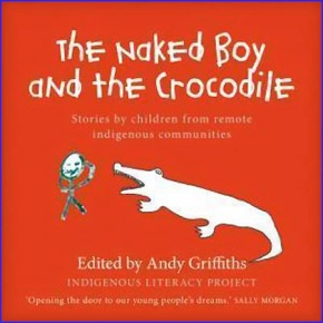 crocodile naked boy