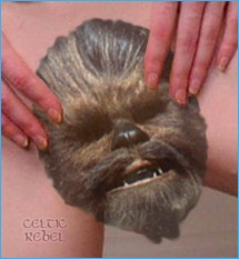 chewbacca scary vagina