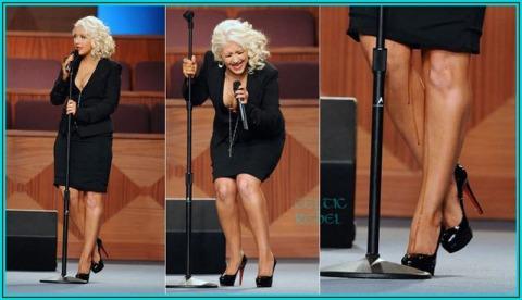 Christina Aguilera Rectal Blowout