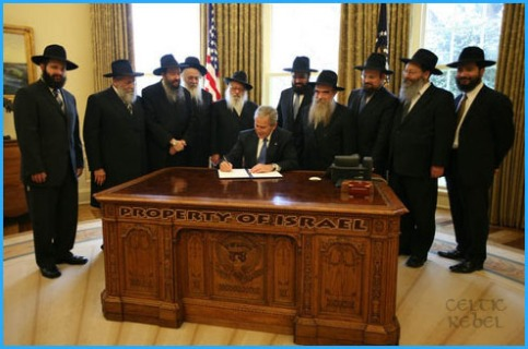 chabad jews own bush