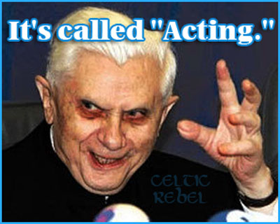 the pope is an actor