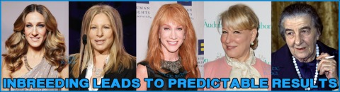 inbreeding leads to predictable results