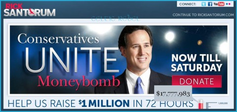 rick santorum cum on your face