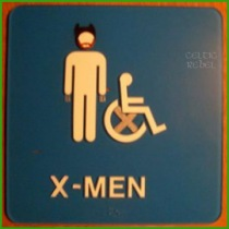 x-men are handicapped