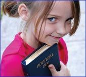 girl and bible