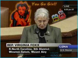 virginia foxx lucifer