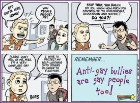 bullies are gay propaganda
