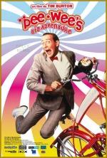 pee wee rides a bike