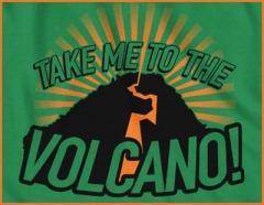 living volcano
